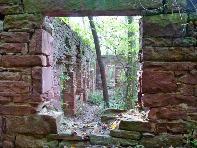 Seneca Stonecutting Mill Window